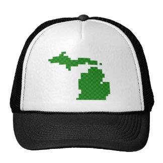 Pixel Michigan Trucker Hat