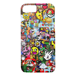 Pixel mix iPhone 7 case