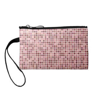 Pixel mosaic change purse