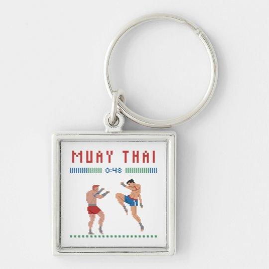 Pixel Muay Thai Keychain