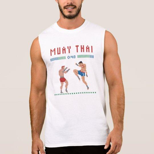 Pixel Muay Thai Sleeveless Shirt