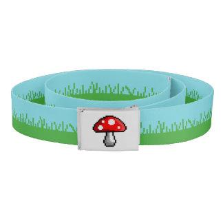 Pixel Mushroom Meadow Belt