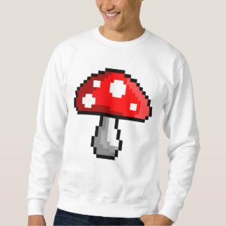 Pixel Mushroom Sweatshirt