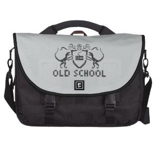 Pixel Old School Dinosaur Laptop Bag