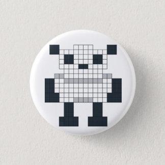 Pixel Panda Badge 1 Inch Round Button