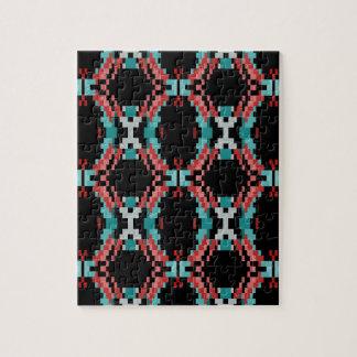 Pixel Pattern Jigsaw Puzzle