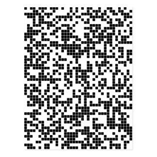 pixel postcard