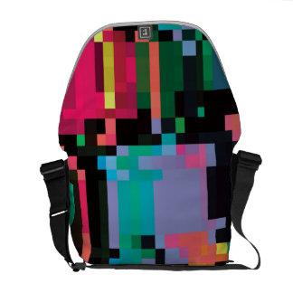Pixel Punch Messenger Bags