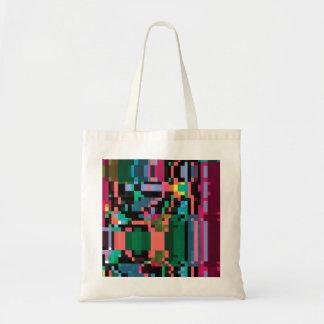Pixel Punch Tote Bag