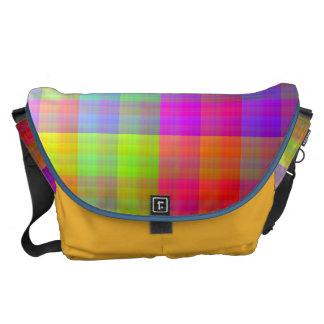 Pixel Quilt Commuter Bags