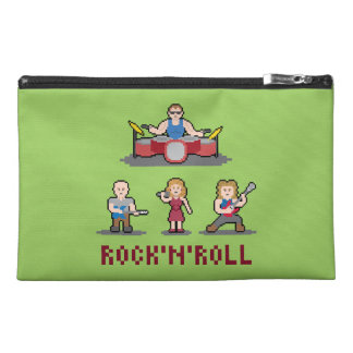 Pixel Rock'n'Roll Band Travel Accessory Bag