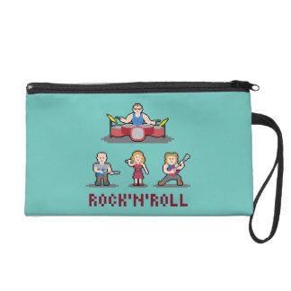 Pixel Rock'n'Roll Band Wristlet