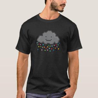 pixel-shower-cloud-multicolour.png T-Shirt