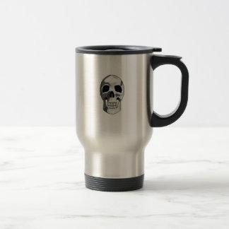 Pixel Skull Travel Mug