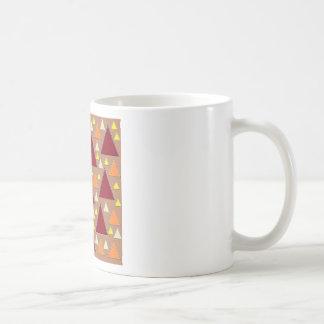 pixel snow topped fall mountain ranges coffee mug