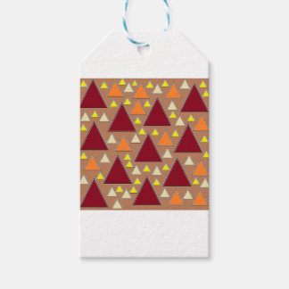 pixel snow topped fall mountain ranges gift tags