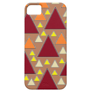 pixel snow topped fall mountain ranges iPhone 5 covers
