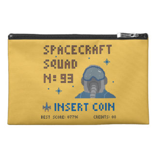 Pixel Space Squad Travel Accessory Bag
