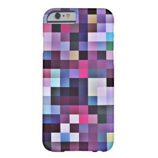 Pixel Squares iPhone 6 case - purples Barely There iPhone 6 Case