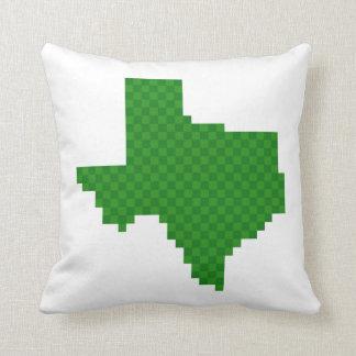 Pixel Texas Throw Pillow