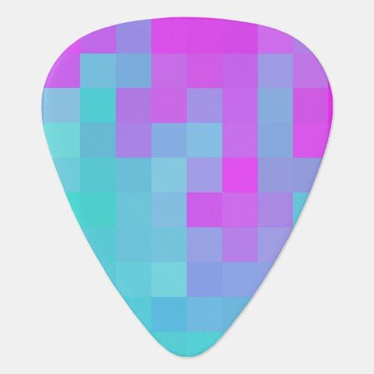 Pixel Wave guitar pick
