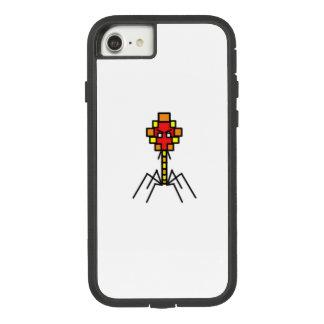 Pixelated Bacteriophage Phone Case