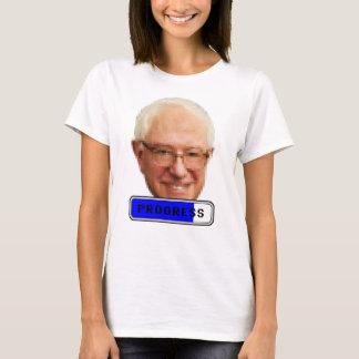 Pixelated Bernie Sanders - PROGRESS T-Shirt