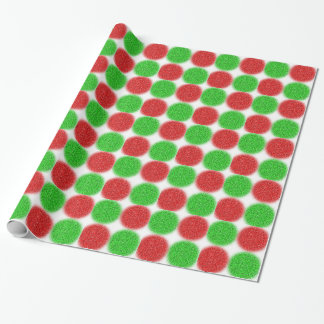 Pixelated Candy Dots Wrapping Paper
