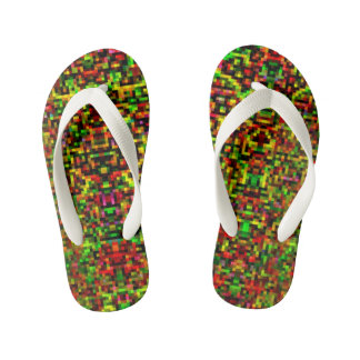Pixelated Flip-Flops I Kid's Flip Flops