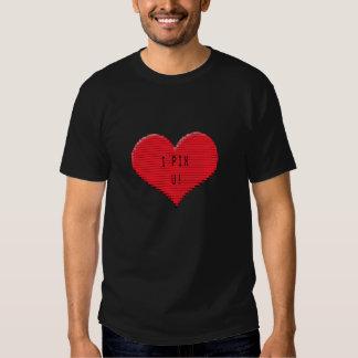 Pixelated Heart: I Pix U! Shirt