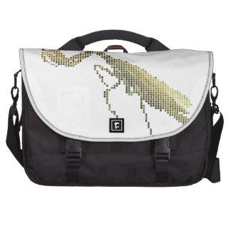 Pixelated Mantis Laptop Commuter Bag
