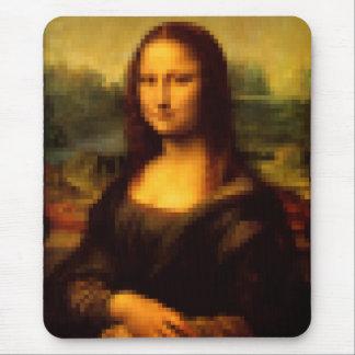 Pixelated Mona Lisa Mouse Pad