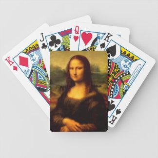 Pixelated Mona Lisa Poker Deck