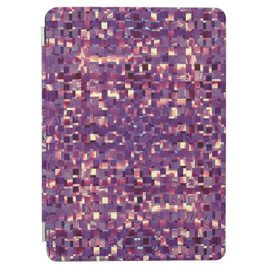 Pixelated Purple Tablet Cover iPad Air Cover