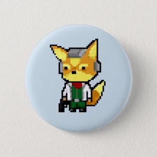Pixelated Starfox Pin