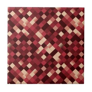 pixelated tiles