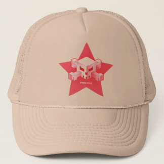 Pixelfield Game   Pink Logo Hat
