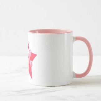 Pixelfield Game   Pink Logo Mug