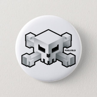 Pixelfield Game | Radical Skull Logo Button