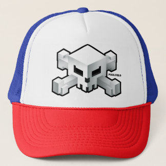 Pixelfield Game | Radical Skull Logo Hat