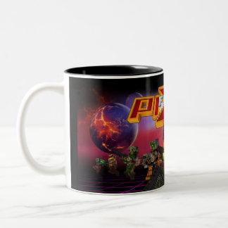 Pixelfield Game   Reptilians Mug