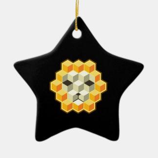 PixeLion Ceramic Star Ornament