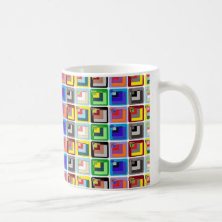 PixelMixel Coloured Squares Mug