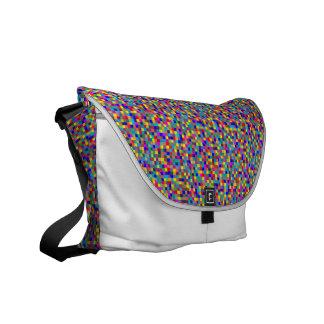 Pixels Courier Bag