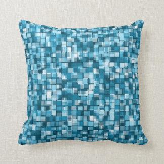 Pixels pattern throw pillow