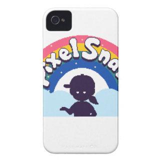 PixelSnark Logo iPhone 4 Case
