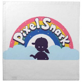 PixelSnark Logo Napkin
