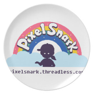 PixelSnark Logo Plate