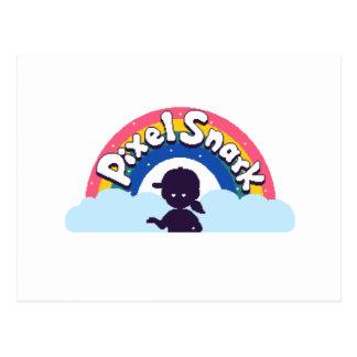 PixelSnark Logo Postcard