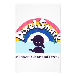 PixelSnark Logo Stationery
